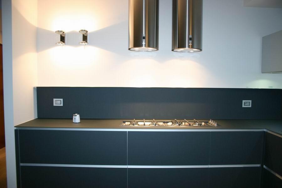 Valcucine mod artematica vitrum cucina in vetro temperato - Schienale cucina in vetro temperato ...