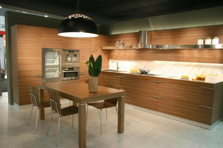 Fiera del mobile Bergamo, stand cucine Snaidero - Carminati e ...